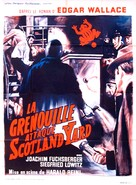 Der Frosch mit der Maske - French Movie Poster (xs thumbnail)