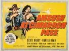 Ambush at Cimarron Pass - British Movie Poster (xs thumbnail)