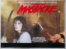 The Slumber Party Massacre - British Movie Poster (xs thumbnail)