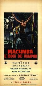 Macumba Love - Italian Movie Poster (xs thumbnail)