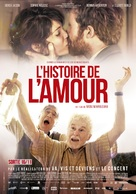 The History of Love - Belgian Movie Poster (xs thumbnail)