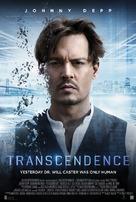 Transcendence - Danish Movie Poster (xs thumbnail)
