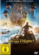 The Adventures of Tintin: The Secret of the Unicorn - German DVD cover (xs thumbnail)