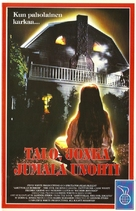 Amityville: The Evil Escapes - Finnish VHS movie cover (xs thumbnail)