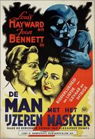 The Man in the Iron Mask - Dutch Movie Poster (xs thumbnail)