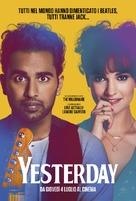 Yesterday - Italian Movie Poster (xs thumbnail)