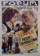 Heidi - Belgian Movie Poster (xs thumbnail)