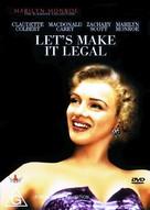 Let's Make It Legal - Australian DVD cover (xs thumbnail)