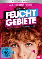 Feuchtgebiete - German DVD cover (xs thumbnail)