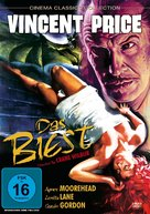 The Bat - German Movie Cover (xs thumbnail)