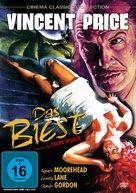 The Bat - German Movie Cover (xs thumbnail)