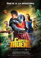 Capitán Trueno y el Santo Grial - Spanish Movie Poster (xs thumbnail)