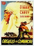 Comanche Territory - Spanish Movie Poster (xs thumbnail)