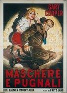 Cloak and Dagger - Italian Movie Poster (xs thumbnail)