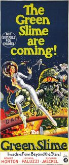 The Green Slime - Australian Theatrical movie poster (xs thumbnail)