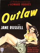 The Outlaw - French Movie Poster (xs thumbnail)