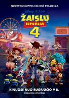 Toy Story 4 - Lithuanian Movie Poster (xs thumbnail)