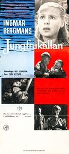 Jungfrukällan - Swedish Movie Poster (xs thumbnail)