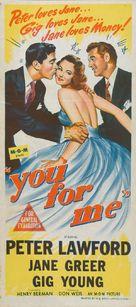 You for Me - Australian Movie Poster (xs thumbnail)