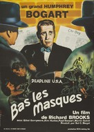 Deadline - U.S.A. - French Movie Poster (xs thumbnail)