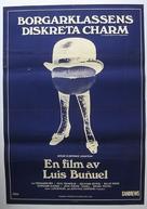 Le charme discret de la bourgeoisie - Swedish Movie Poster (xs thumbnail)