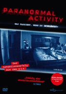 Paranormal Activity - German DVD movie cover (xs thumbnail)