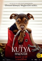 A Dog's Way Home - Hungarian Movie Poster (xs thumbnail)
