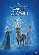 Olaf's Frozen Adventure - Czech DVD cover (xs thumbnail)