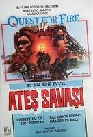 La guerre du feu - Turkish Movie Poster (xs thumbnail)