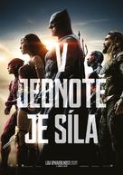 Justice League - Czech Movie Poster (xs thumbnail)
