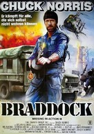 Braddock: Missing in Action III - German Movie Poster (xs thumbnail)