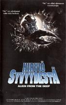 Alien degli abissi - Finnish VHS cover (xs thumbnail)