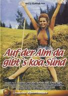 Auf der Alm, da gibt's koa Sünd' - German DVD cover (xs thumbnail)