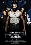 X-Men Origins: Wolverine - Vietnamese Movie Poster (xs thumbnail)