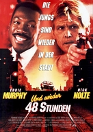 Another 48 Hours - German Movie Poster (xs thumbnail)