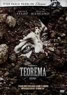 Teorema - Finnish DVD cover (xs thumbnail)