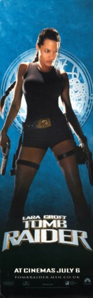 Lara Croft: Tomb Raider - British Movie Poster (xs thumbnail)