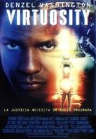 Virtuosity - Spanish Movie Poster (xs thumbnail)