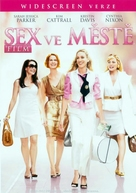 Sex and the City - Czech DVD movie cover (xs thumbnail)