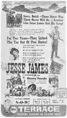 Jesse James - poster (xs thumbnail)
