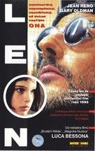 Léon - Slovak VHS movie cover (xs thumbnail)