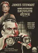 Rear Window - Danish Movie Poster (xs thumbnail)