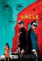 The Man from U.N.C.L.E. - Polish Movie Poster (xs thumbnail)
