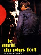 Faustrecht der Freiheit - French Movie Cover (xs thumbnail)