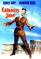 Calamity Jane - DVD cover (xs thumbnail)