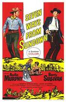 Seven Ways from Sundown - Movie Poster (xs thumbnail)