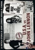 The U.S. vs. John Lennon - Italian Movie Poster (xs thumbnail)
