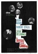 Le soleil des voyous - Spanish Movie Poster (xs thumbnail)