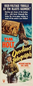 Overland Telegraph - Movie Poster (xs thumbnail)