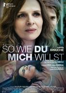 Celle que vous croyez - German Movie Poster (xs thumbnail)
